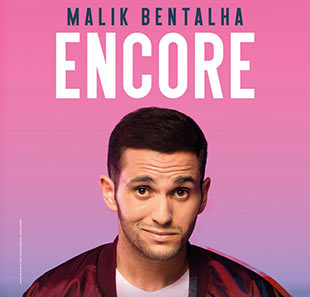 One man/woman show MALIK BENTALHA ENCORE BRUXELLES - BRUSSEL