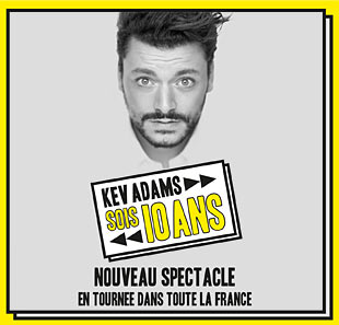 One man/woman show KEV ADAMS - SOIS 10 ANS BRUXELLES - BRUSSEL