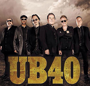 Pop-rock UB40 40th Anniversary Tour BRUXELLES