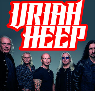 Rock URIAH HEEP with special guest The Zombies BRUXELLES