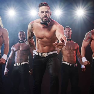 Grand spectacle CHIPPENDALES® about last night... 2018 World Tour OOSTENDE