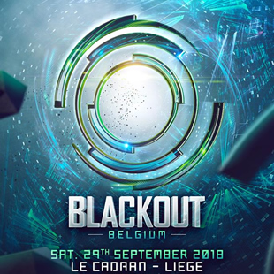Electronische muziek BLACKOUT BELGIUM 100% quality Drum & Bass event Le Cadran, Luik - 29/09/2018