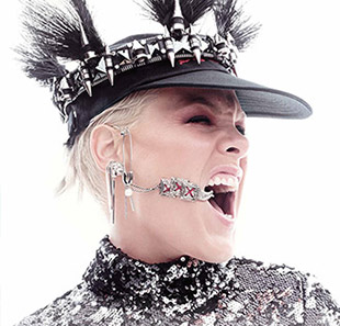 Pop-rock P!NK BEAUTIFUL TRAUMA Paris La Defense Arena - 03/07/2019