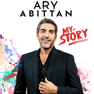 One man/woman show ARY ABITTAN MY STORY BRUXELLES - BRUSSEL