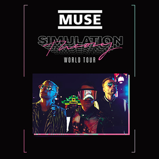 Pop-rock MUSE BUS + TICKET PARIS
