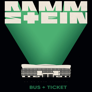 Hardrock RAMMSTEIN BUS & TICKET PARIS
