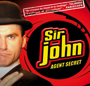 One man/woman show SIR JOHN IS BACK BORDEAUX