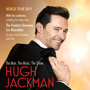 Internationaal varieté HUGH JACKMAN THE MAN. THE MUSIC. THE SHOW. ANTWERPEN - MERKSEM