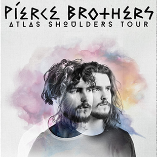 Pop-rock PIERCE BROTHERS ATLAS SHOULDERS TOUR La Madeleine, Brussel - 28/09/2019
