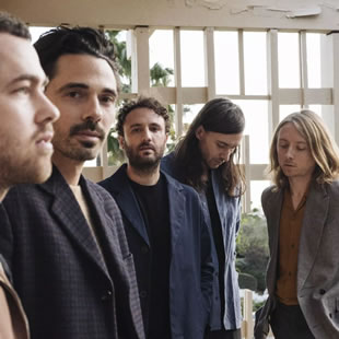Pop-rock LOCAL NATIVES BRUXELLES - BRUSSEL