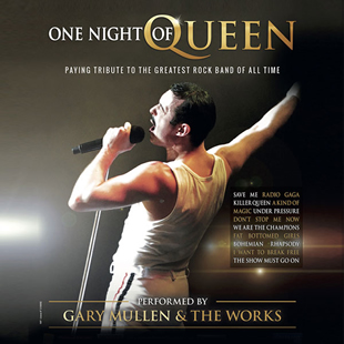 Internationaal varieté ONE NIGHT OF QUEEN performed by Gary Mullen&The Works BRUXELLES - BRUSSEL