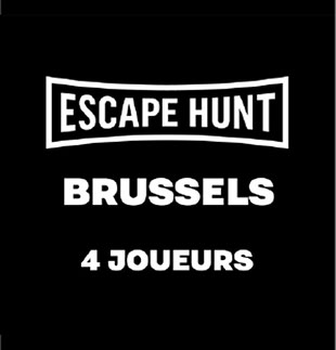 Escape Game ESCAPE GAME BRUSSELS - 4 PERSONS ESCAPE HUNT EXPERIENCE BRUSSELS
