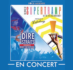 Pop-rock ROCK LEGENDS : TOURNÉE 2020 Hommage à Supertramp & Dire Straits LONGUENESSE