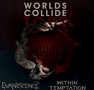 Hardrock EVANESCENCE + WITHIN TEMPTATION ESCH SUR ALZETTE