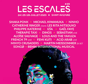 Internationaal varieté FESTIVAL LES ESCALES - PASS 1 JOUR ST NAZAIRE