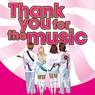 Théâtre musical THE ABBA STORY THANK YOU FOR THE MUSIC ANTWERPEN