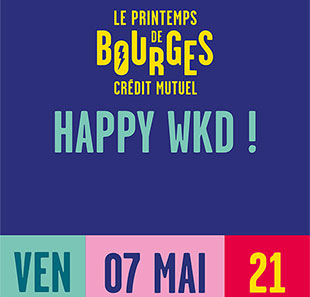 Pop-rock HAPPY WKD#JOUR*1-THE AVENER- PH.KATERINE-IZÏA-DYONISOS-DELUXE-.. BOURGES
