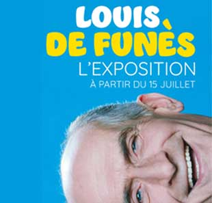 Exposition LOUIS DE FUNÈS PARIS