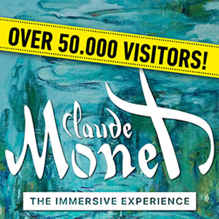 Exposition MONET - *OPEN TICKET* The immersive experience BRUXELLES