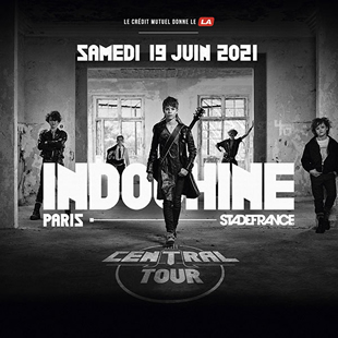 Pop-rock/Folk INDOCHINE : BUS + TICKET STADE DE FRANCE MONS