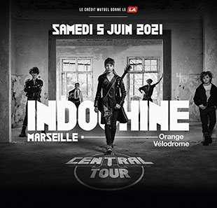 INDOCHINE : BUS CANNES + PELOUSE