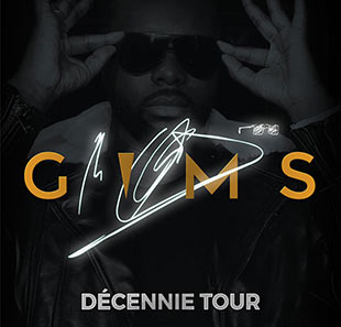 Rap/Hip-hop/Slam GIMS DECENNIE TOUR LIEGE