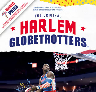 Basketball MAGIC PASS RENNES CESSON-SEVIGNE HARLEM GLOBETROTTERS CESSON SEVIGNE
