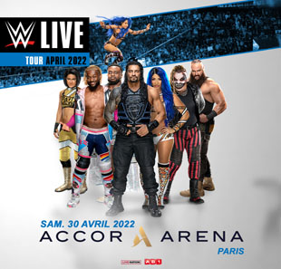 Catch WWE LIVE PARIS