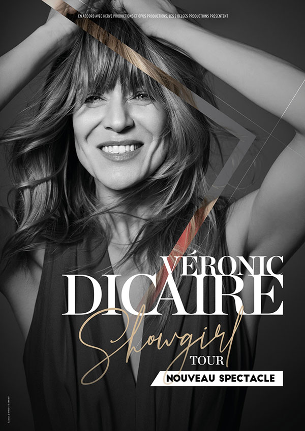 VERONIC DICAIRE. SHOWGIRL TOUR