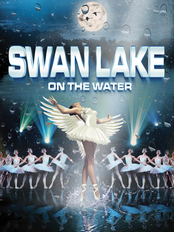SWAN LAKE ON THE WATER