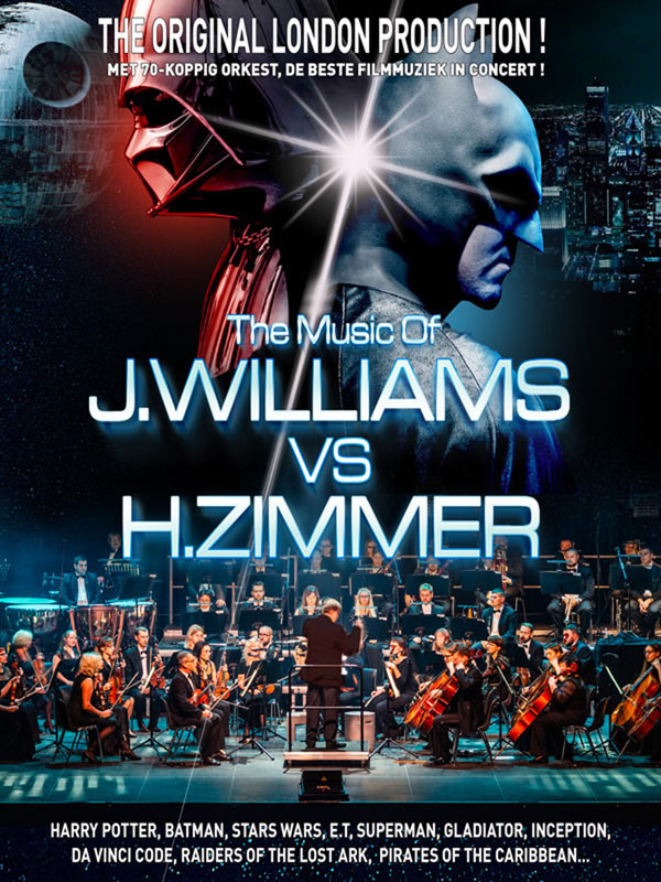 Hans Zimmer Vs John Williams Fnac Tickets Belgium Belgium