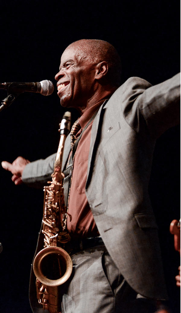 MACEO PARKER - LAC IN BLUE FESTIVAL
